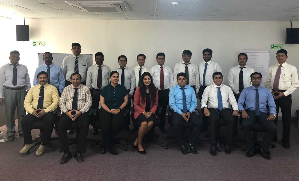Executive Presence workshop for high-potential executives of a leading infrastructure company