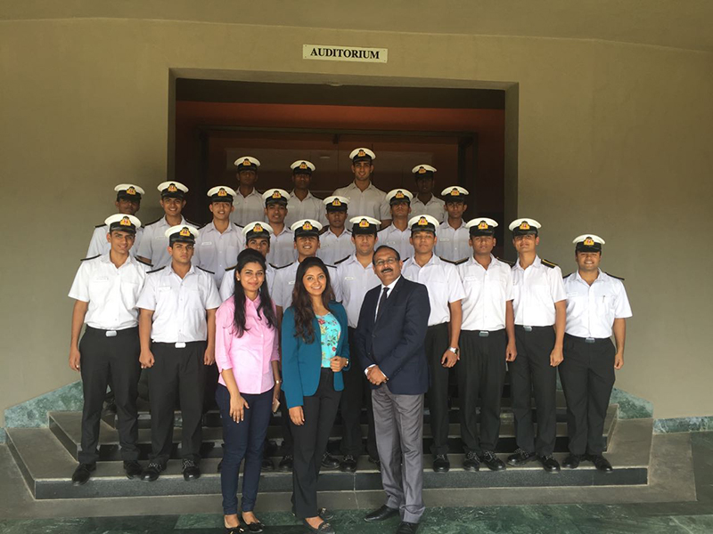 Image Management Program for Cadets of a leading Shipping Company