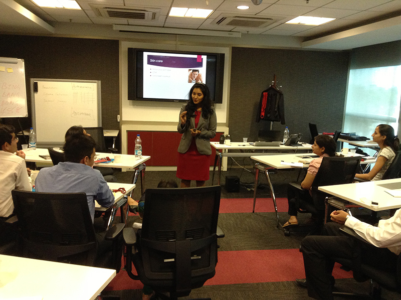 Personal Branding Workshop for a Financial Organisation