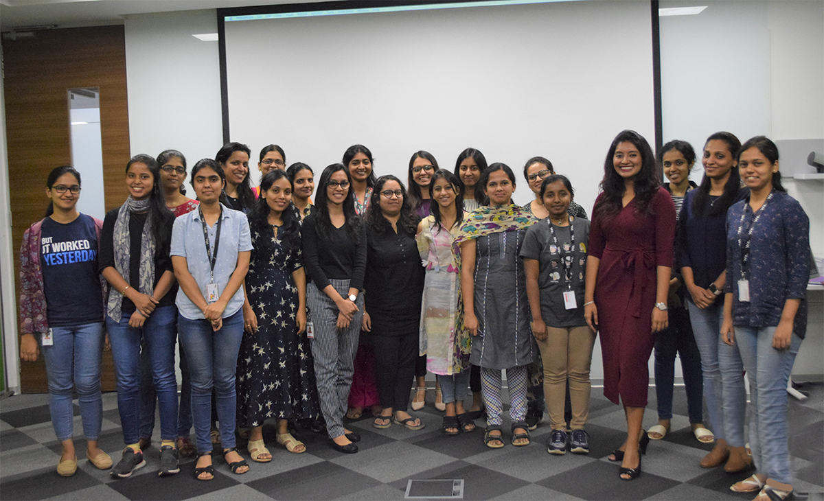 Personal Branding workshop for women employees of a technology major as part of their Diversity & Inclusion initiative
