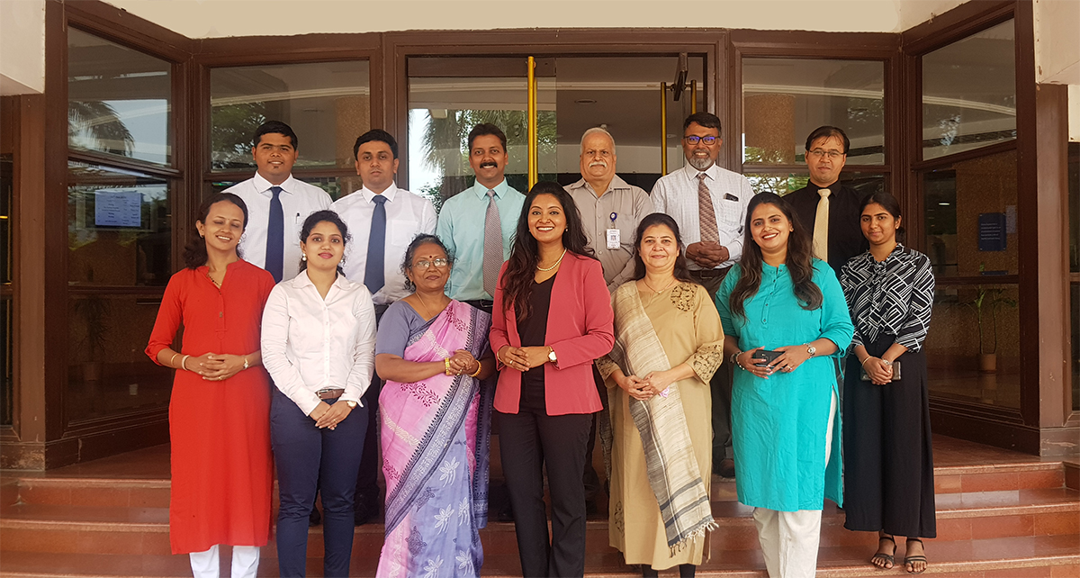 Etiquette Essentials training for one of the largest power companies in India