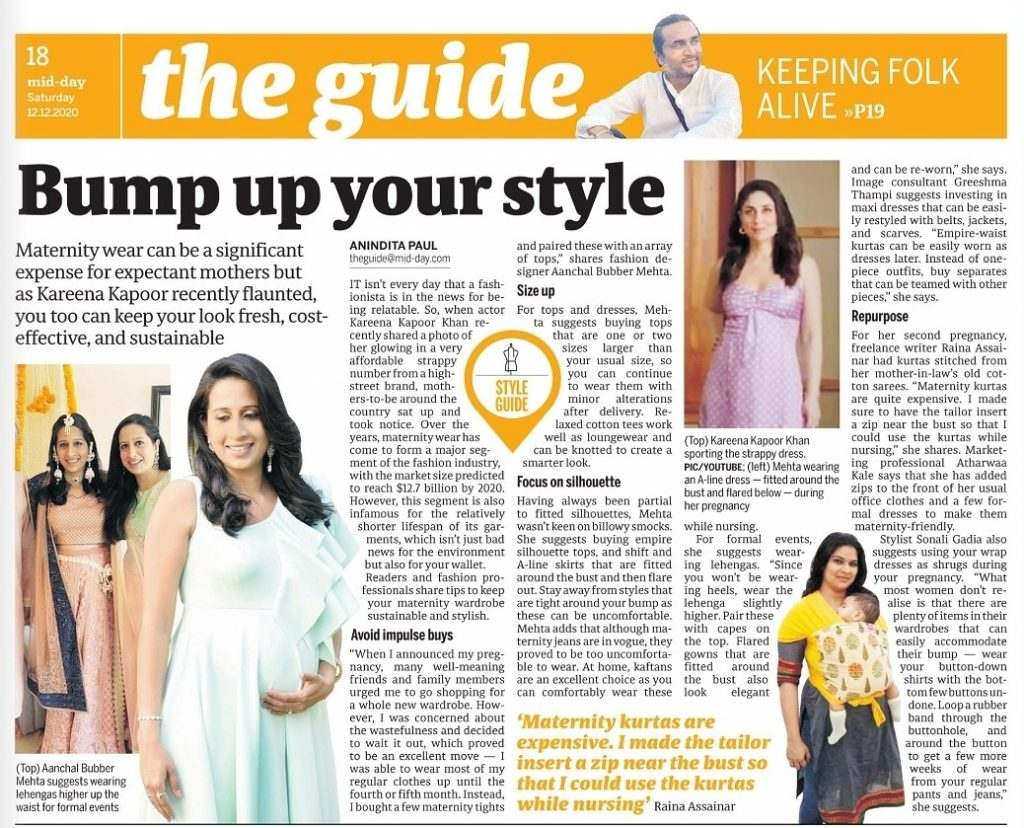 Featured in Mid - Day
